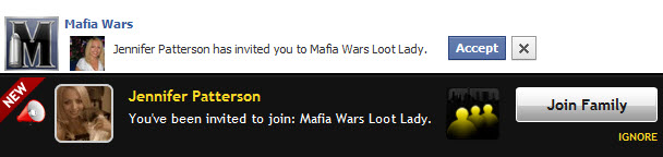 more like <b>Mafia</b> Invites.