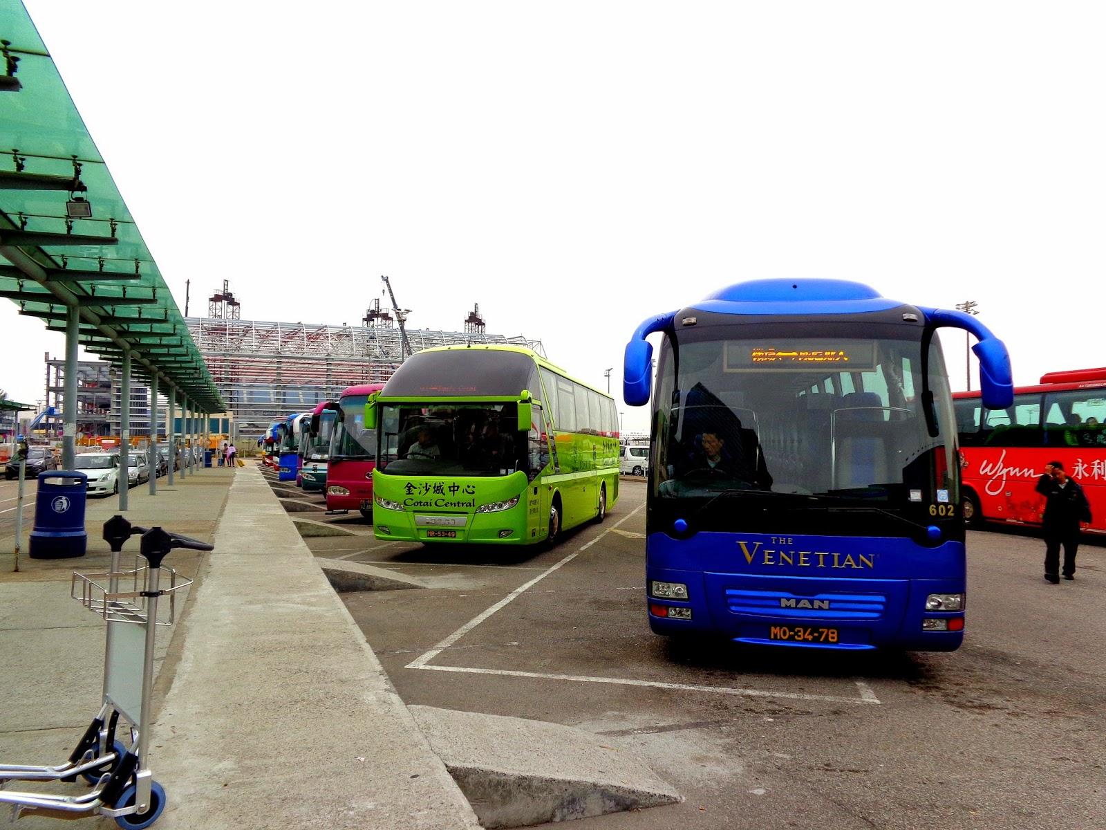 Cuti Macau Shuttle Bus
