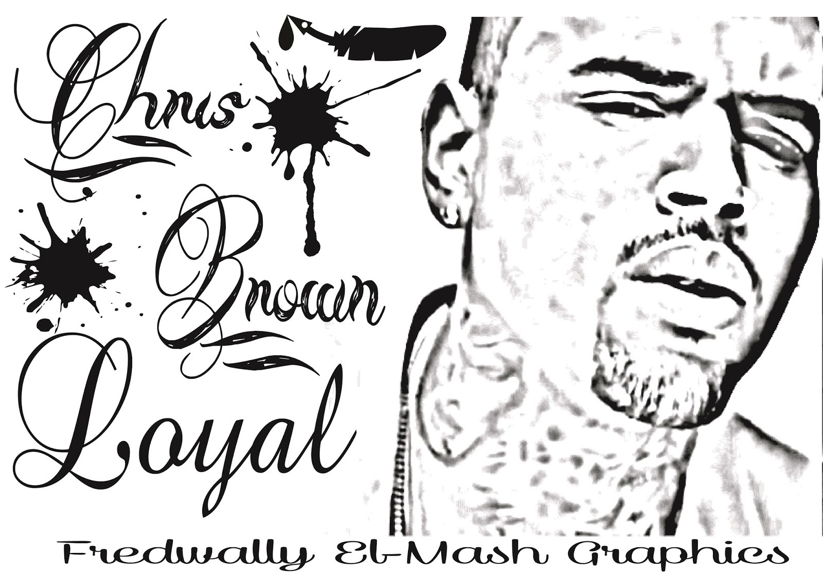 chris brown coloring pages - sketch drawings of chris brown coloring pages