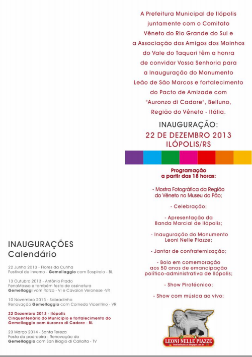 Convite Ilópolis
