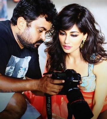 Chitrangda Singh shoots with Munna S
