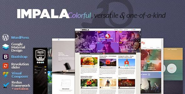Impala - Colorful Versatile and one-of-kind theme