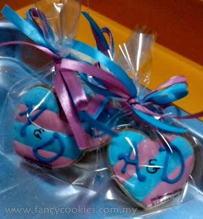 fancy cookies mini - initial pengantin