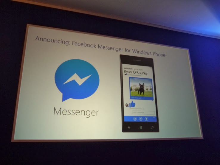 Facebook Messenger for Windows Phone is coming