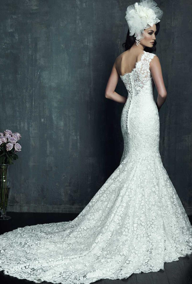 Allure couture fall 2013 bridal collection belle the for Beautiful fitted wedding dresses