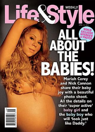 mariah carey pregnant belly. Mariah Carey Tweets Painted