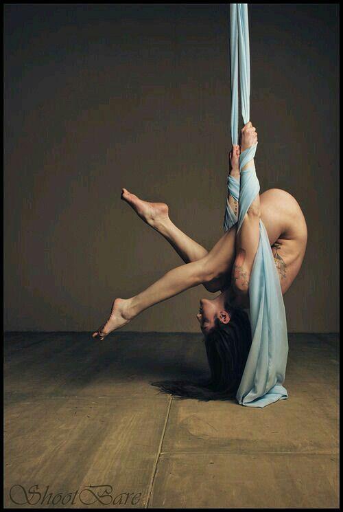 Sexy Aerial Yoga
