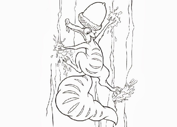 Ice Age Buck Coloring Pages - Colorings.net