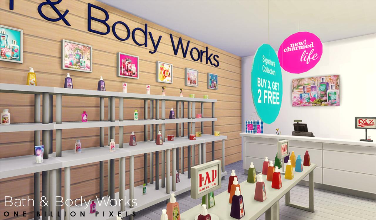 My Sims 4 Blog Bath Body Works Shop Set V2 Sellable andbath and body works  shop CasadediousBath And Body Shop Toronto  Bath and Body Works store in the Mall  . Bath And Body Shop Toronto. Home Design Ideas