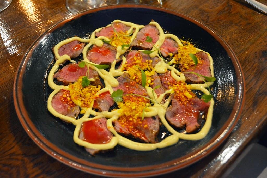 Restaurant Lima, London Beef Carpaccio