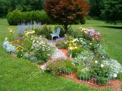 Flower garden planner expert august 2011 for Flower garden planner