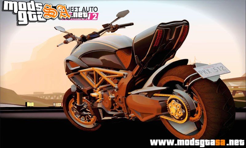 SA - Ducati Diavel 2012