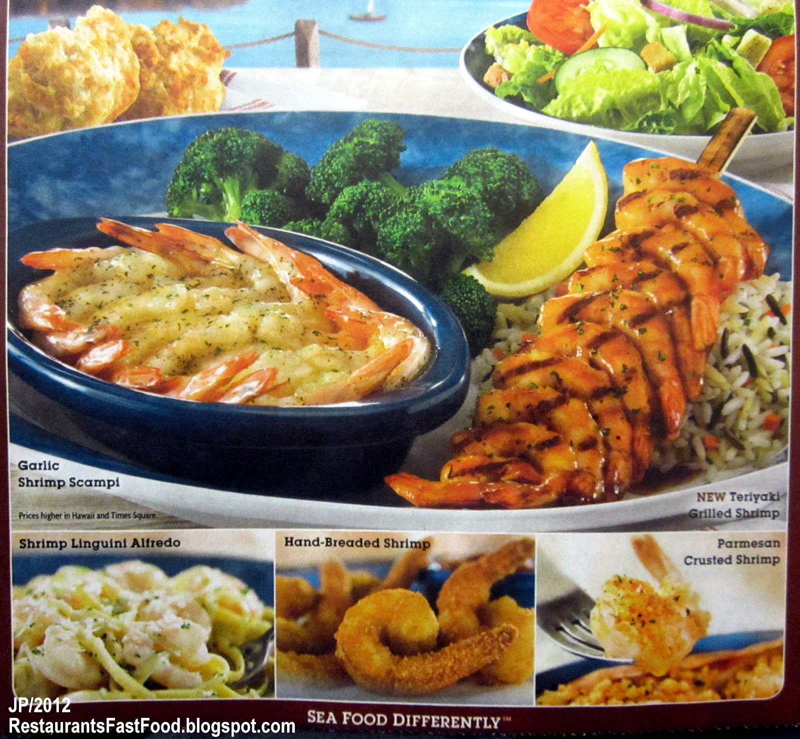 Red Lobster Seafood Restaurant Panama City Florida West 23rd St Fl