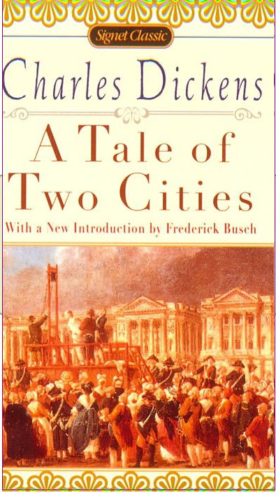 a literary analysis of the novel a tale of two cities by charles dicknes