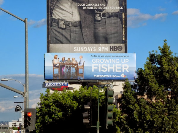 Growing Up Fisher season 1 billboard Sunset Strip