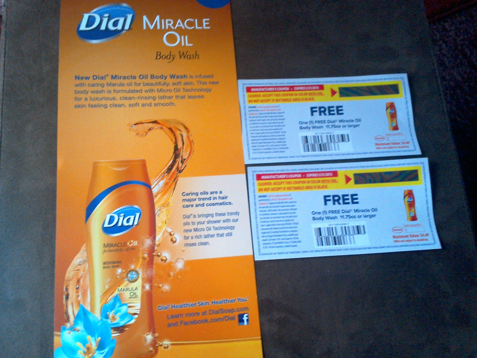 Dial products coupons