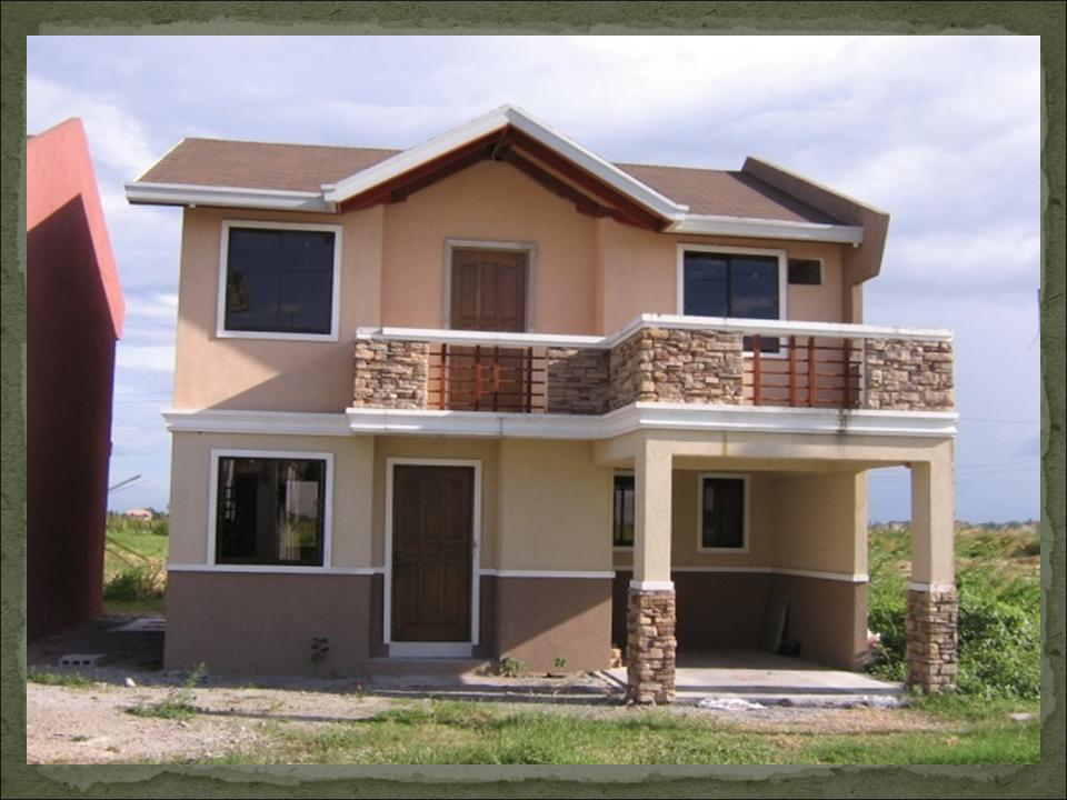 30 beautiful 2 storey house photos bahay ofw for Filipino small house design