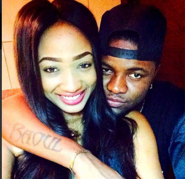 Rapper Skales shows off new girlfriend,deletes all photos of his ex from Instagram