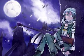 Sword Art Online Phantom Bullet Sinon