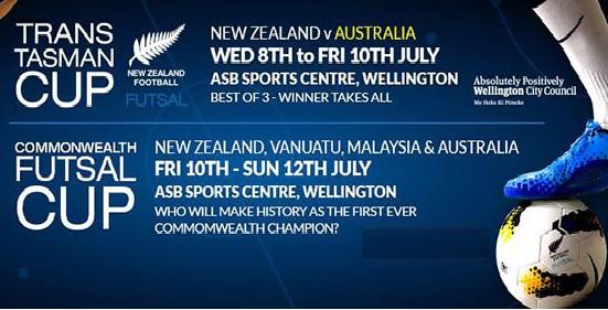 Piala Futsal Komanwel 2015 New Zealand
