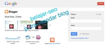 Belajar Bikin Blog