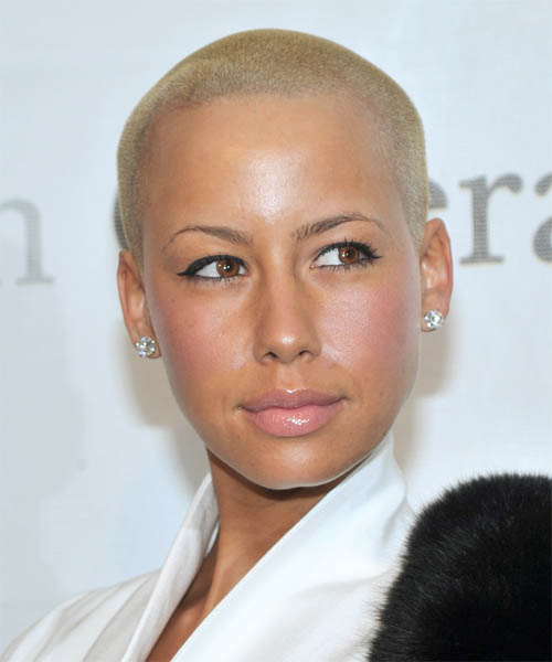 model amber rose with hair. Amber Rose ethnicity