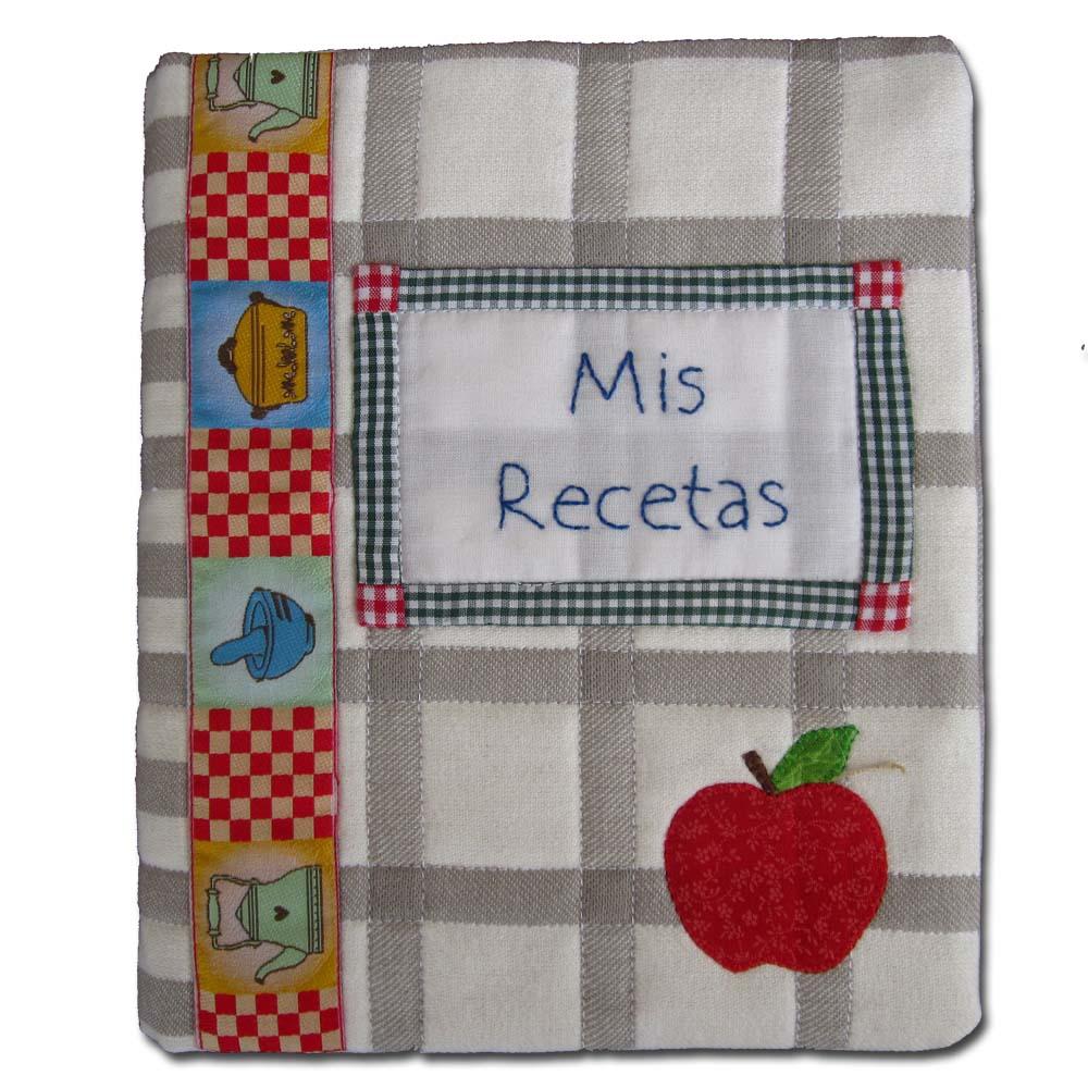 Solo patchwork recetario de cocina en patchwork - Patchwork para cocina ...