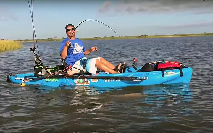 September Texas Redfish Fishing Report with Ty Southerland 30 Miles Out