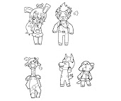 Animal Crossing Coloring Pages