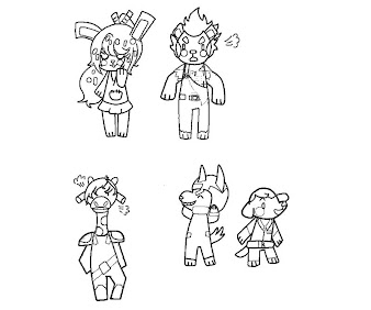 #18 Animal Crossing Coloring Page