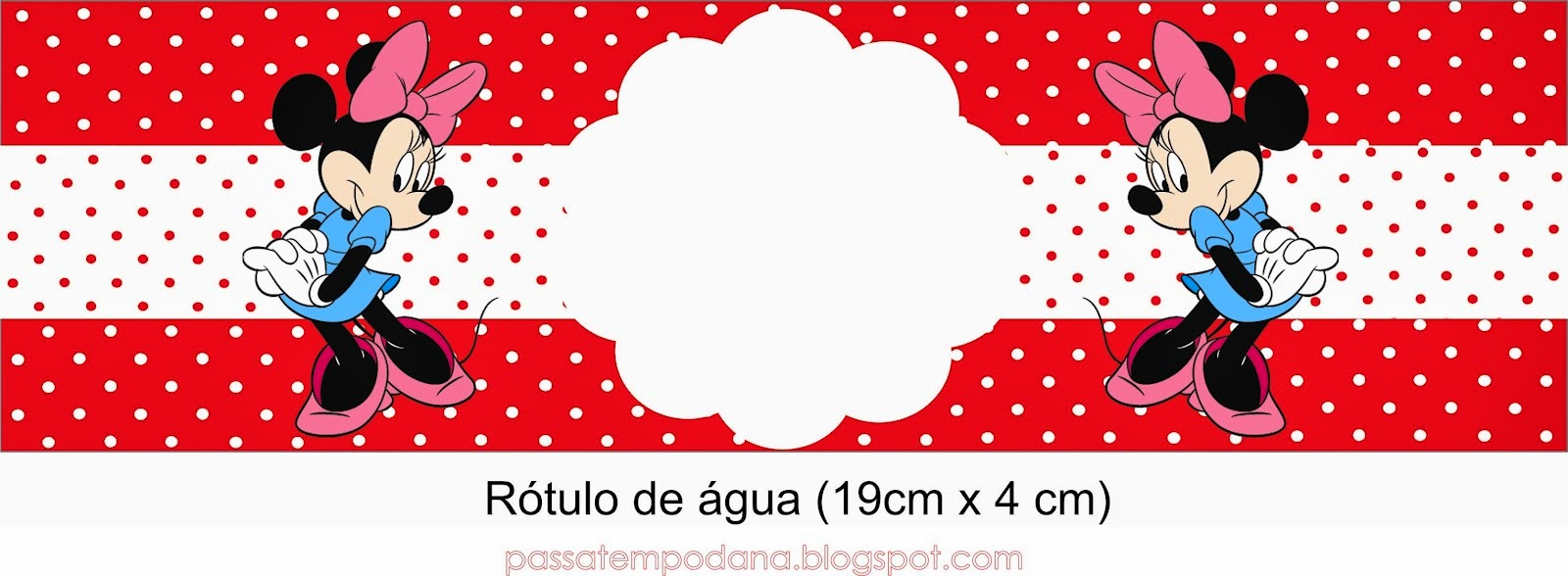 minnie in red and polka dots free printable party kit is it for