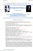 Evola Julius - Bibliografia