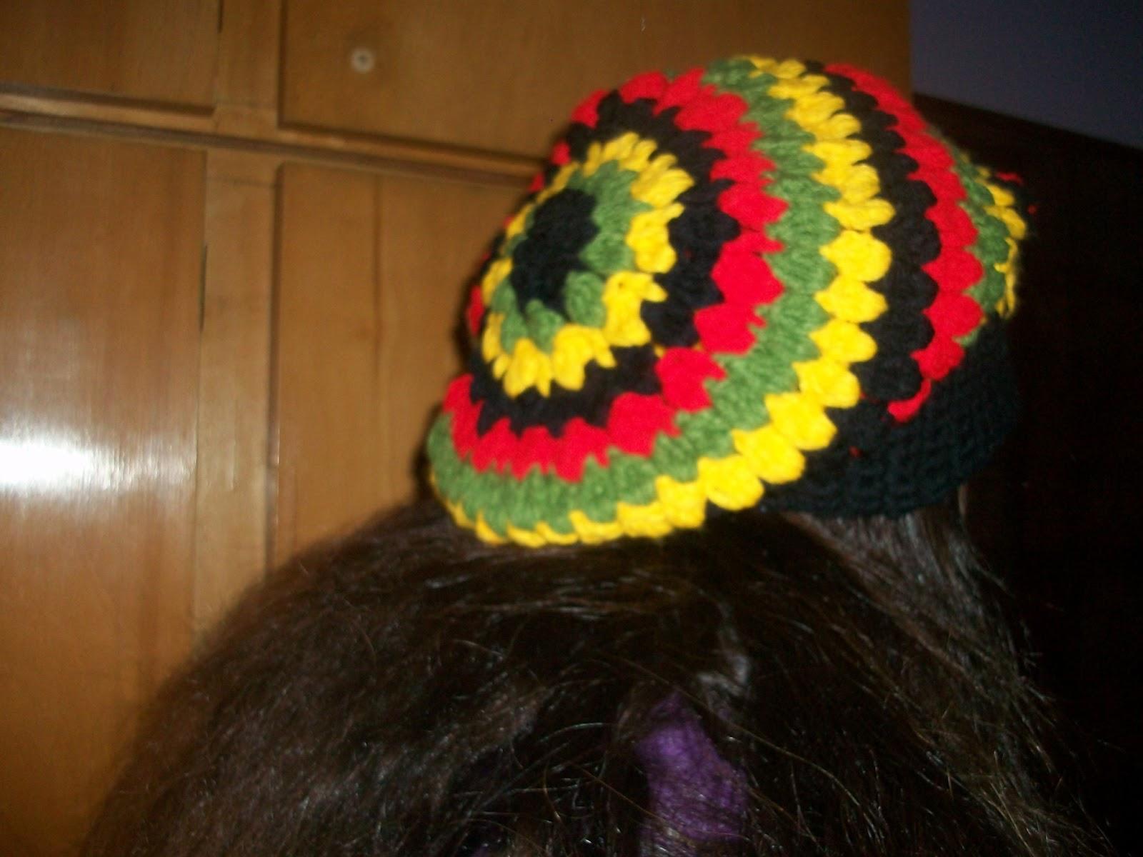 Gorra caida colores rastafari. 09fc77dd0cc
