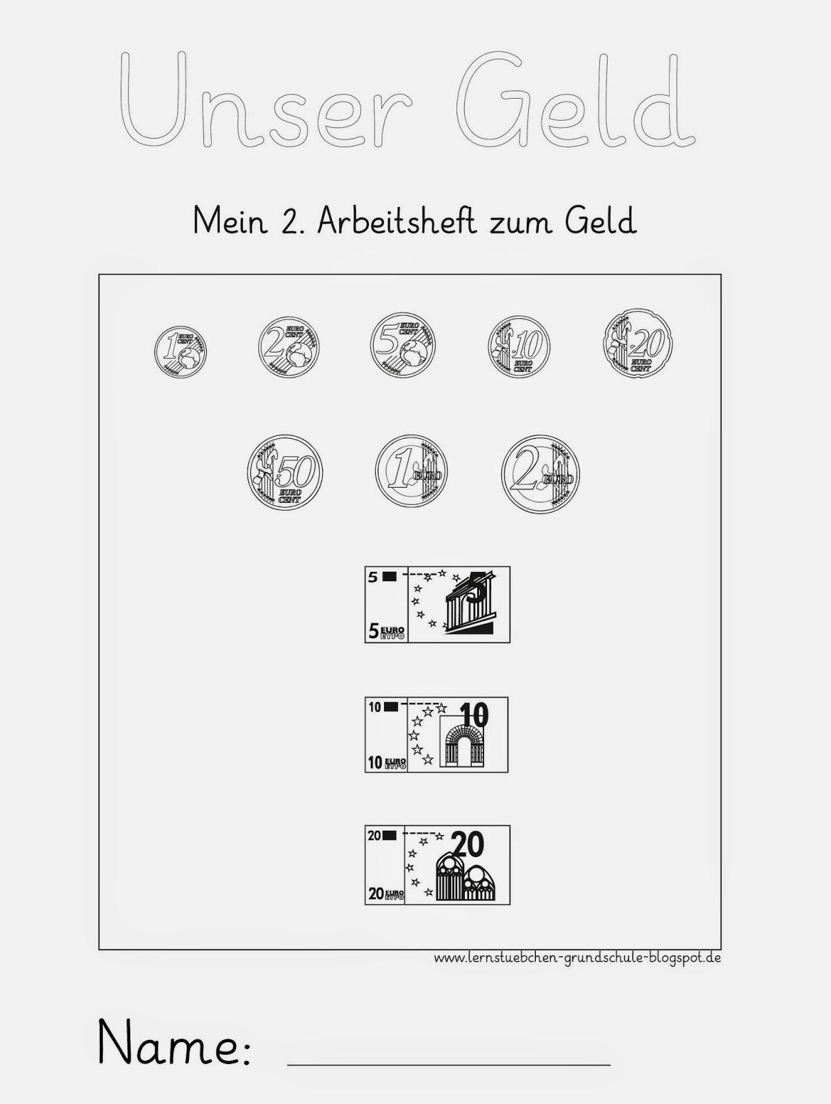 Lernstübchen: rechnen mit Geld ZR 20 (1)