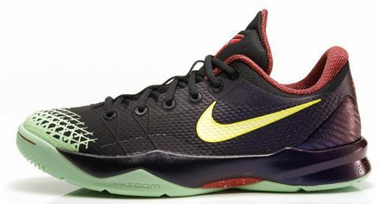timeless design ce2f3 b9fcf The first colorway of the Nike Zoom Kobe Venomenon 4 coming to the US is in  black, lemon chiffon and court purple. Featuring a color fading upper that  ...