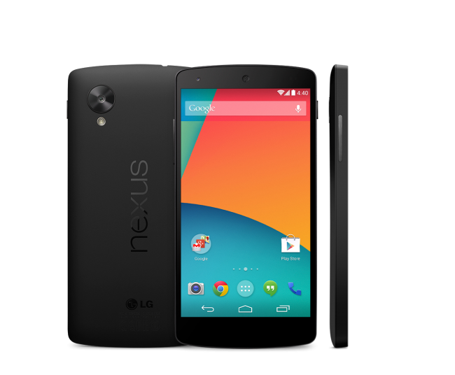 Nexus 5 Visible in Google Play Store for $349