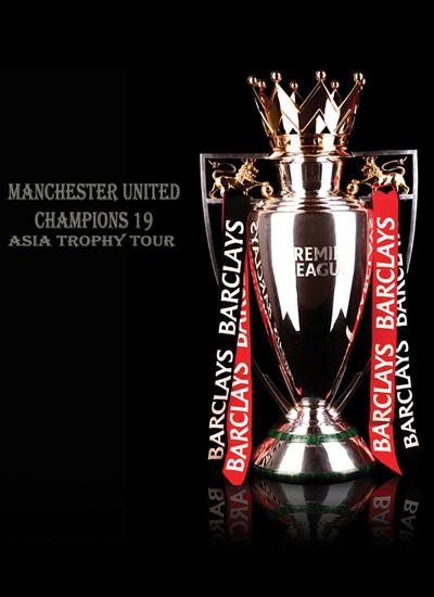 Manchester United Asia Barclays Premier League Trophy Tour 2011