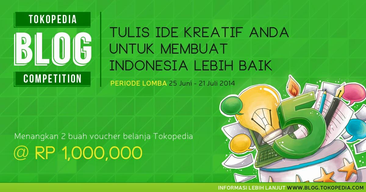 Tokopedia 5th blog tokopedia kompetisi blog lomba blog anniversary ulang tahun tokopedia ke-5 amyzet