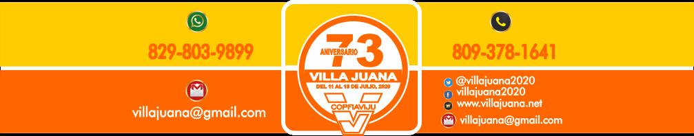 73 aniversario de Villa Juana