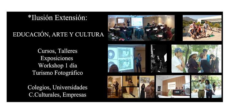 Extensión: Fotografía, Arte y Cultura