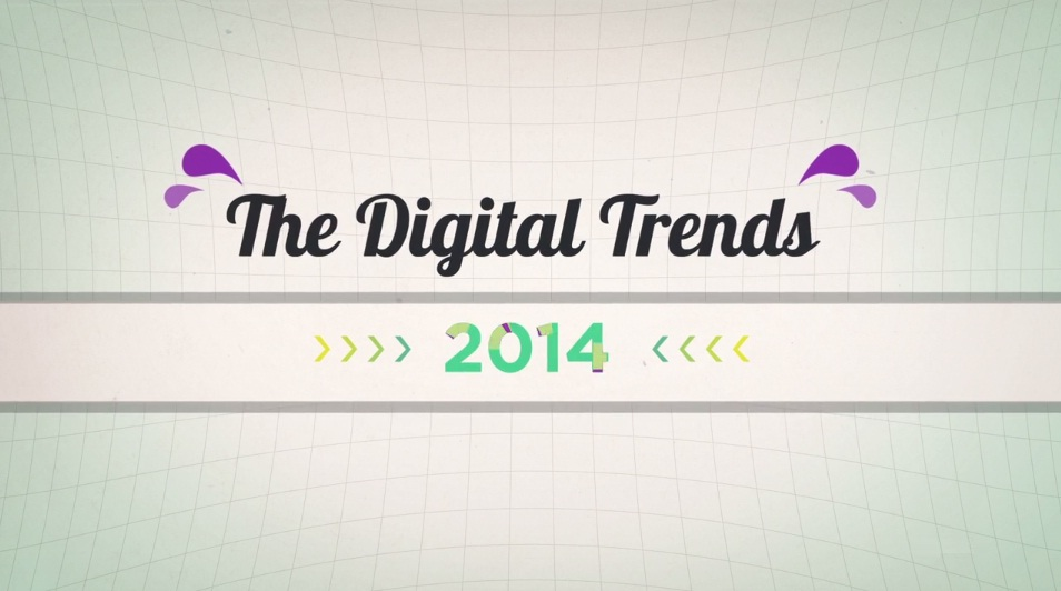10 Digital Trends For 2014 [motion graphic]