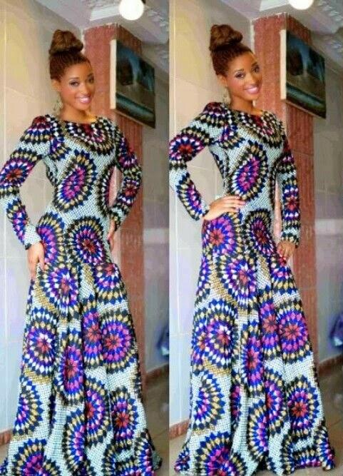 Ankara Long Gown Style - DeZango Fashion Zone