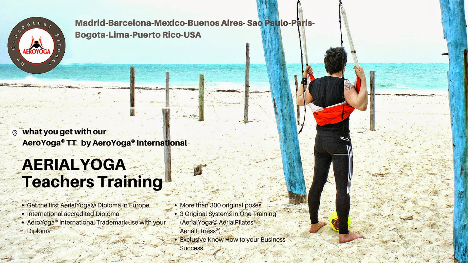 Aerial yoga teacher training in cancun with rafael martinez by discover 1betcityfo Images