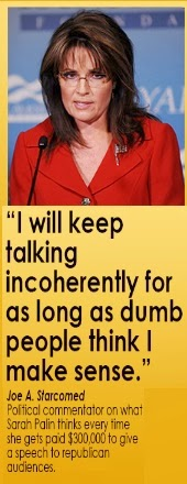 sarah palin's thoughts