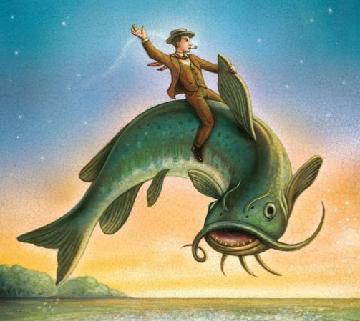 Nar elen filmi olan kitaplar b y k bal k big fish for Big fish daniel wallace