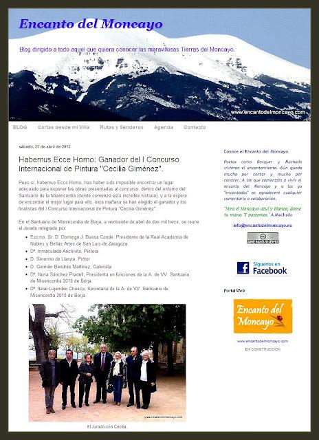 ECCE HOMO-CONCURSO-PINTURA-BORJA-PREMIO-JURADO-PINTOR-ERNEST DESCALS-