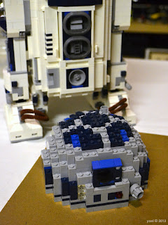 lego r2d2 - but the detailing is amazing... and a little bit involved