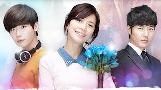 Imagen con los protagonistas del drama coreano Oigo tu Voz