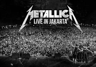 Konser Metallica di Jakarta 2013
