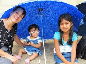 sharing our umbrella